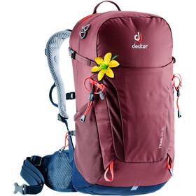 Deuter Trail 24 Backpack Dame maron/navy